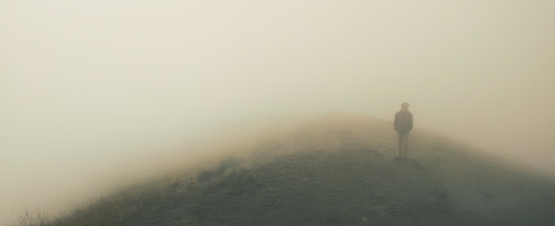 man in fog, article header image