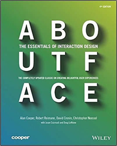 Book cover - About Face: The Essentials of Interaction Design - 4th Edition